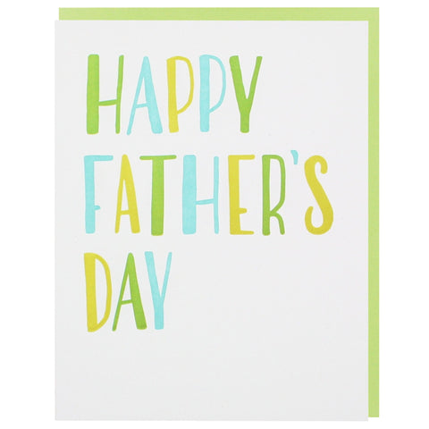 Simply Lettered Father's Day Card