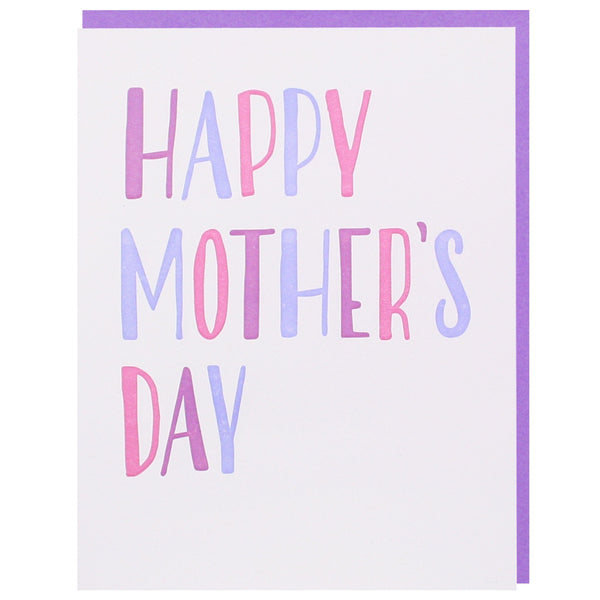 Simply Lettered Mother's Day Card