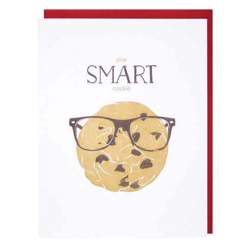Smart Cookie Congratulations Card