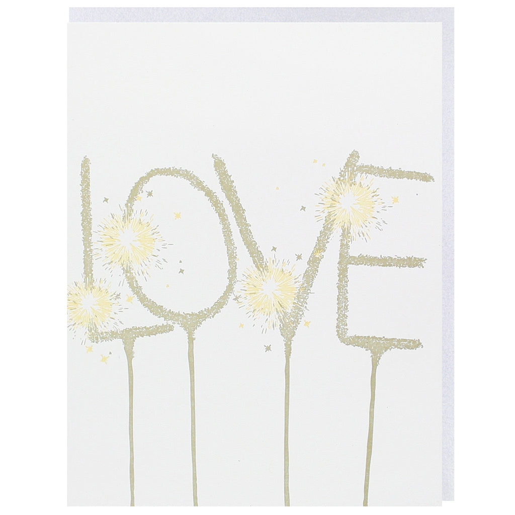 Sparkler Love Card