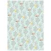 Springtime Animals Wrapping Paper
