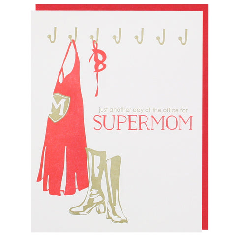 Supermom Mother's Day Card