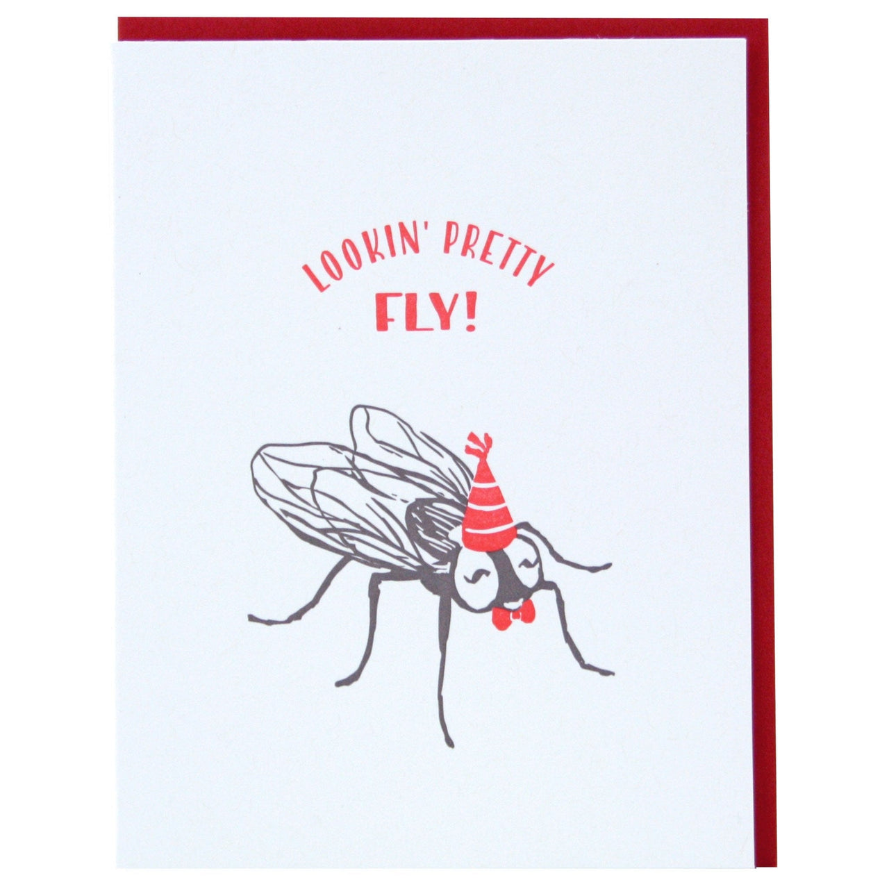 Fly Birthday Card