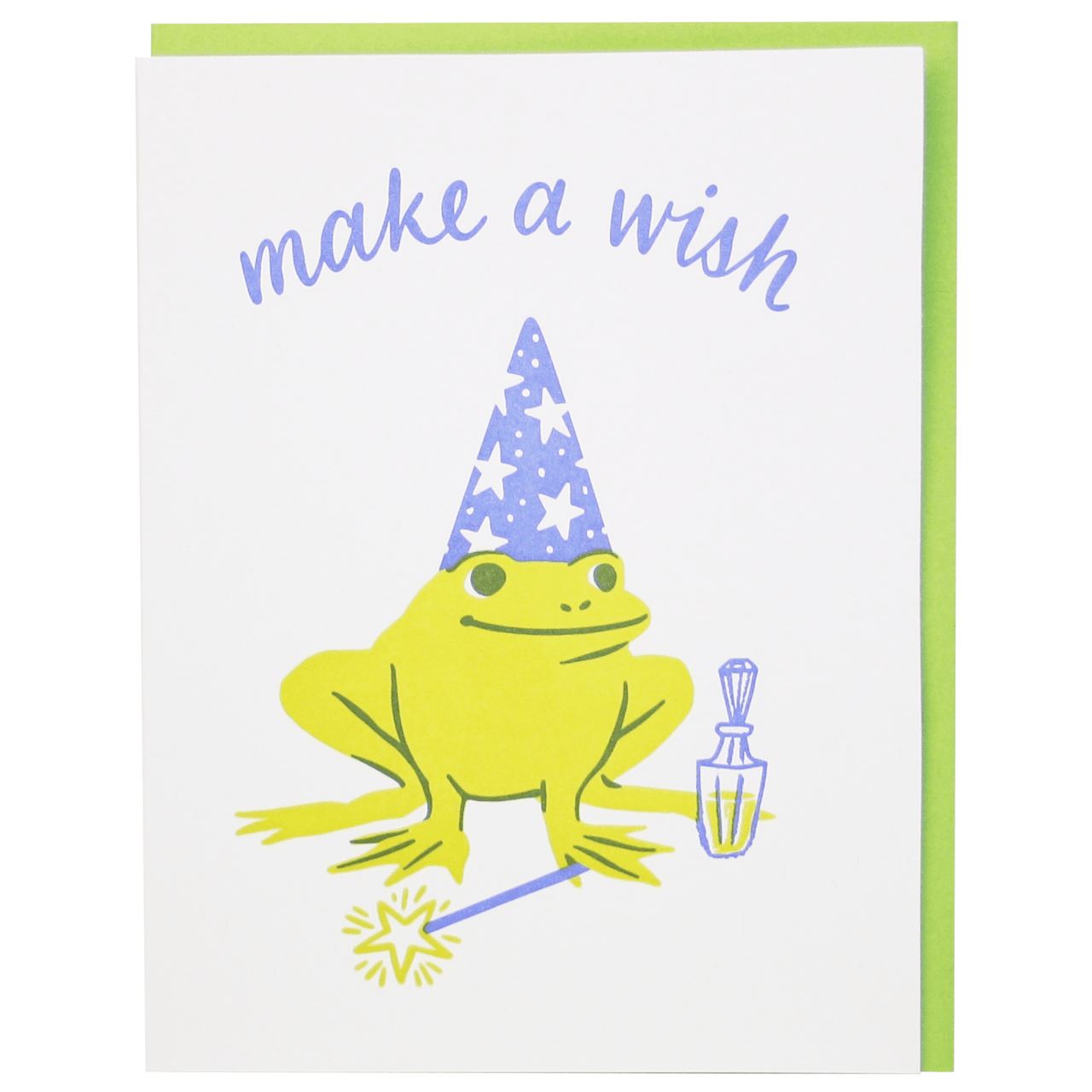 Wizard Frog Birthday Card