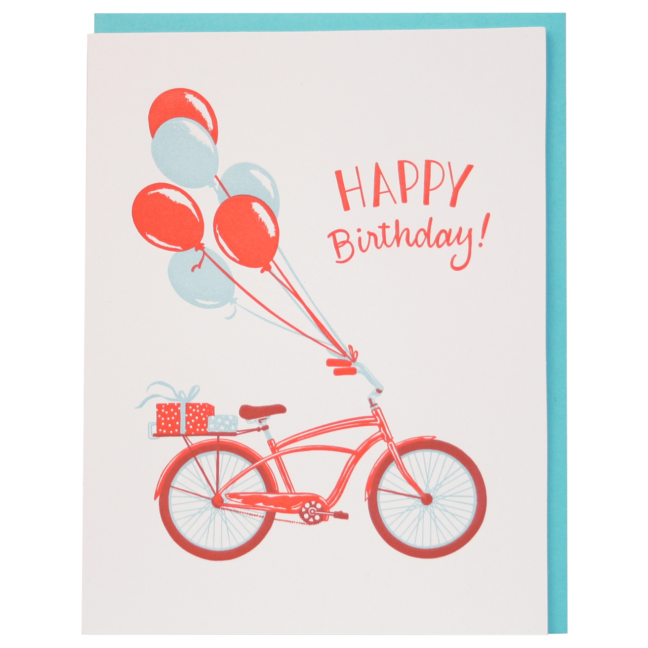 Birthday Bike Birthday Card