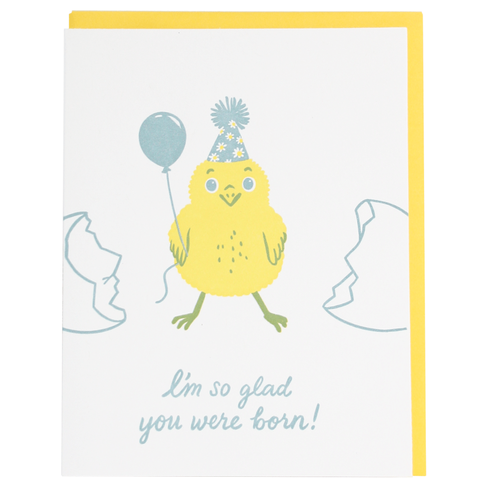Party Chick Birthday Card