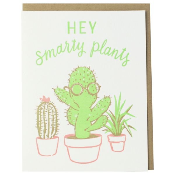 Smarty Plants Congratulations Card