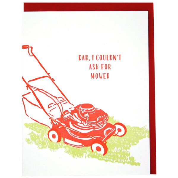 Mower Father's Day Card