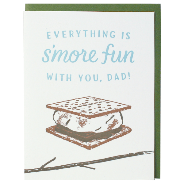 S'more Father's Day Card
