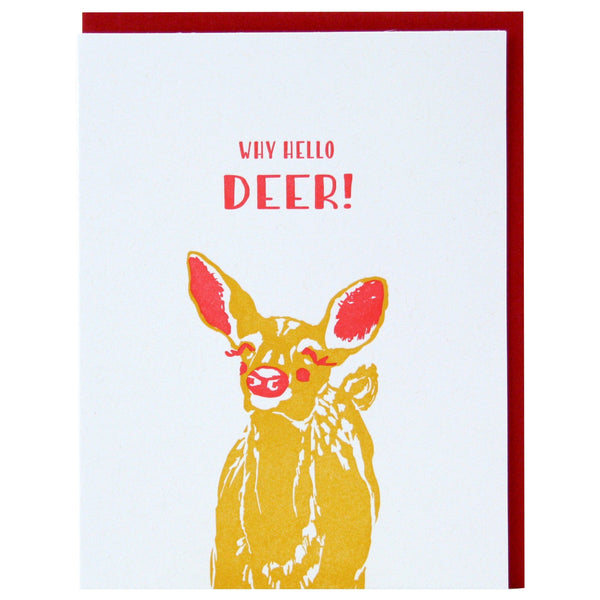 Deer Friendship Card