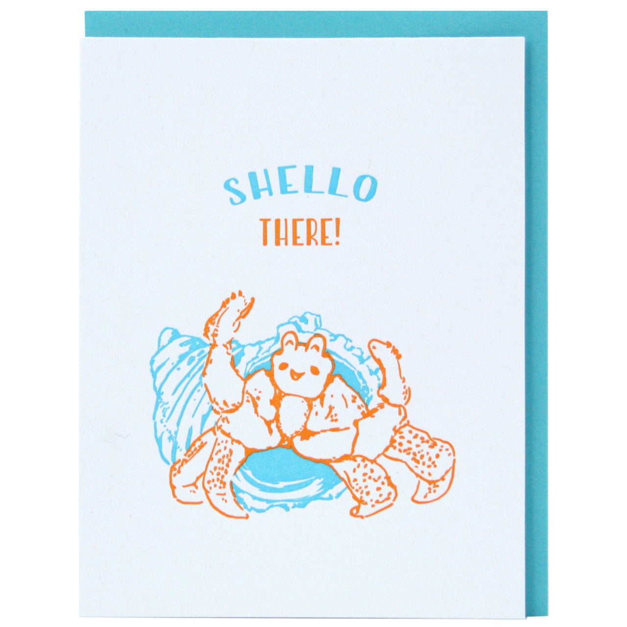 Hermit Crab Friendship Card