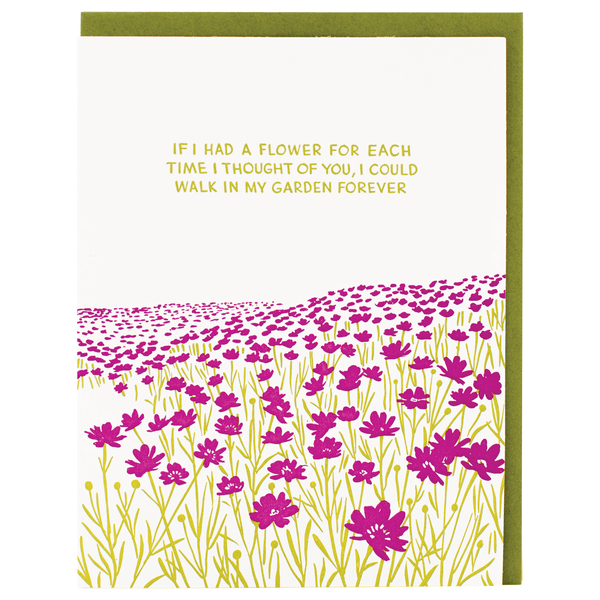 Garden Quote Friendship Card