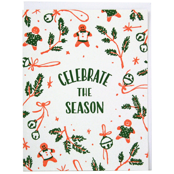 Celebrate the Season Christmas Card