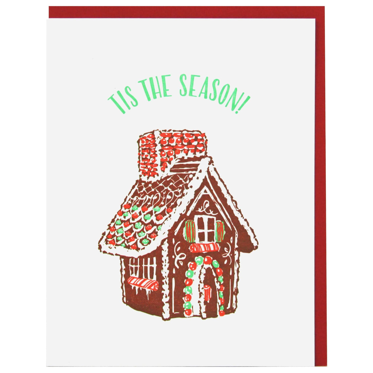 Ginger Bread House Holiday Card