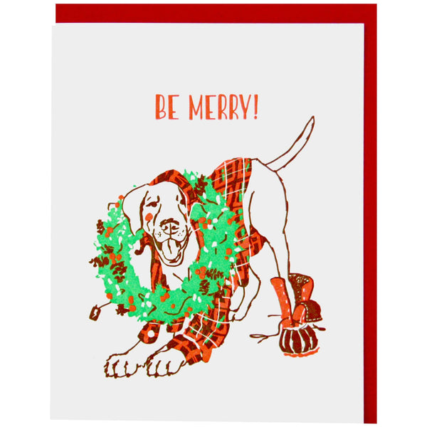 Merry Mutt Holiday Card