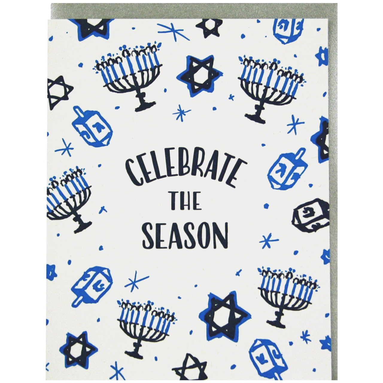Celebrate the Season Hanukkah Card