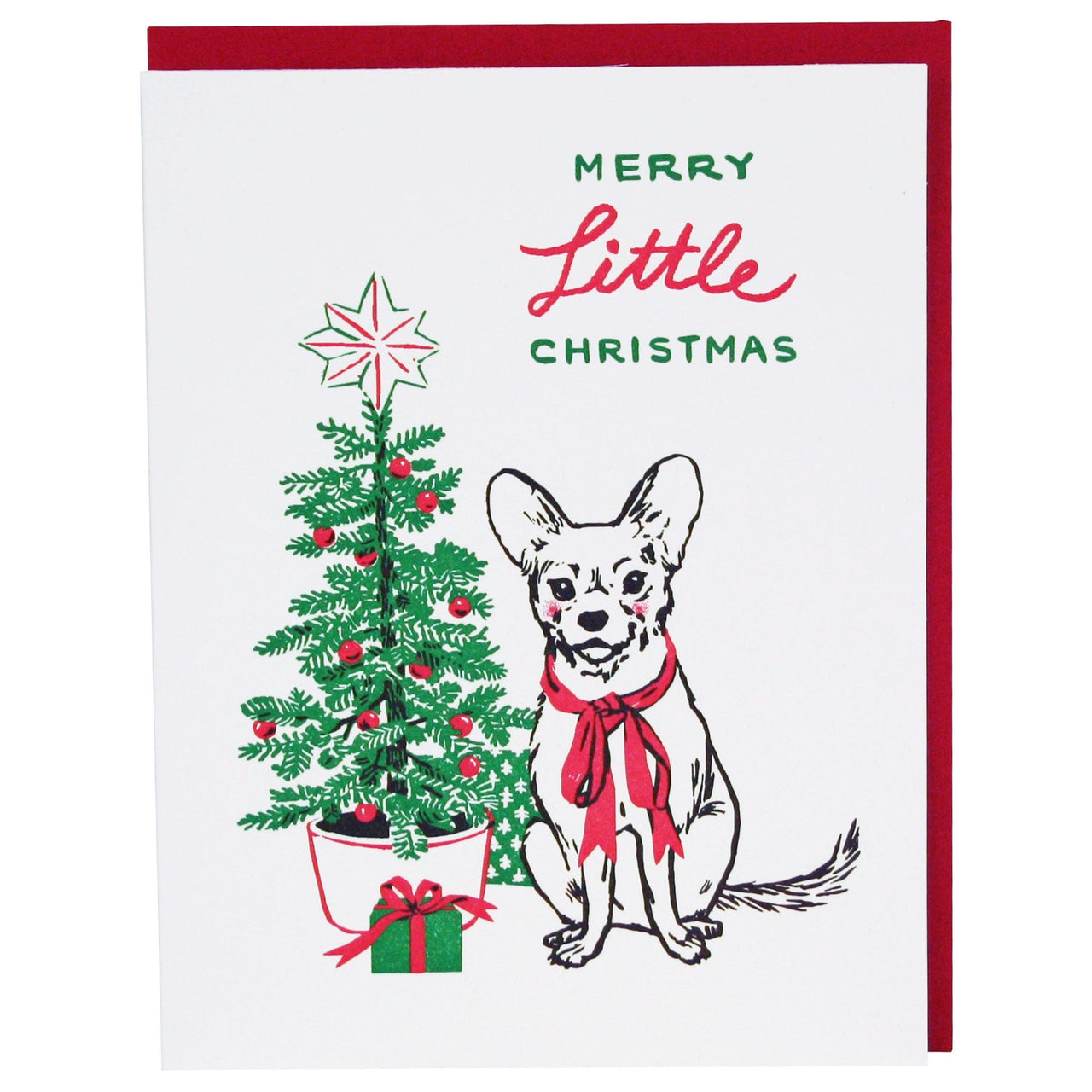 Chihuahua Christmas Card
