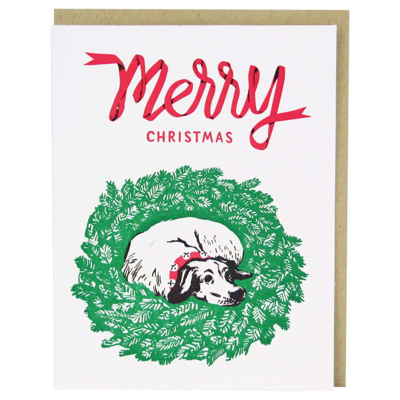 Jingle Dog Christmas Card | Happy Holidays Cards | Smudge Ink ...