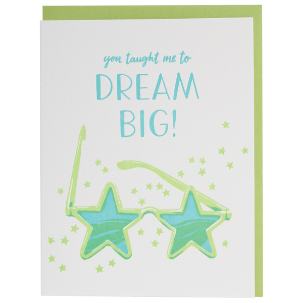 Dream Big Caregiver Card