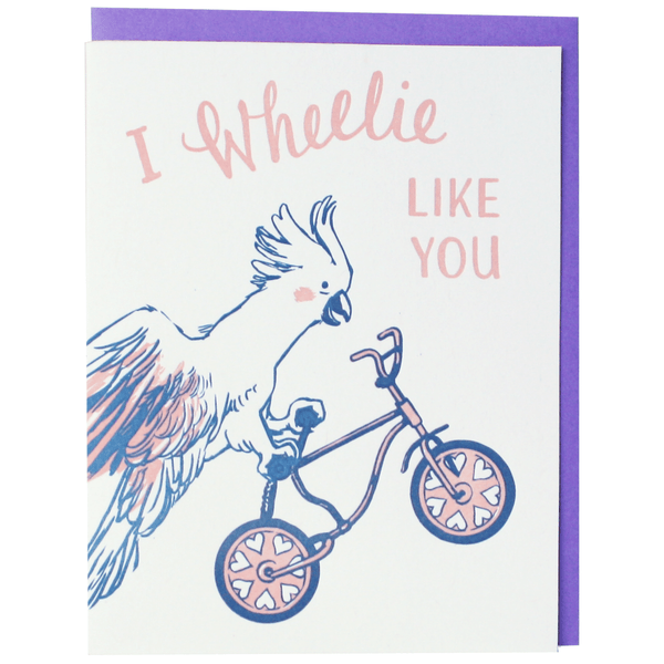 Cockatoo Love Card