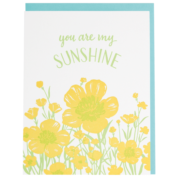 Buttercups Love Card