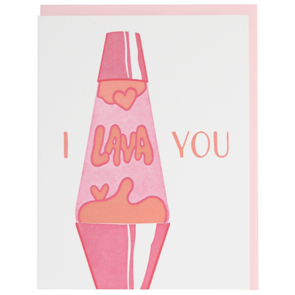 Lava Lamp Love Card