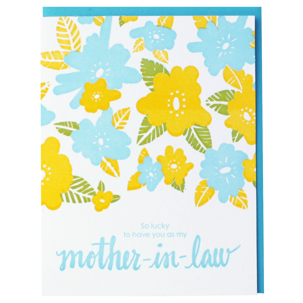 Floral Mother-in-Law Card