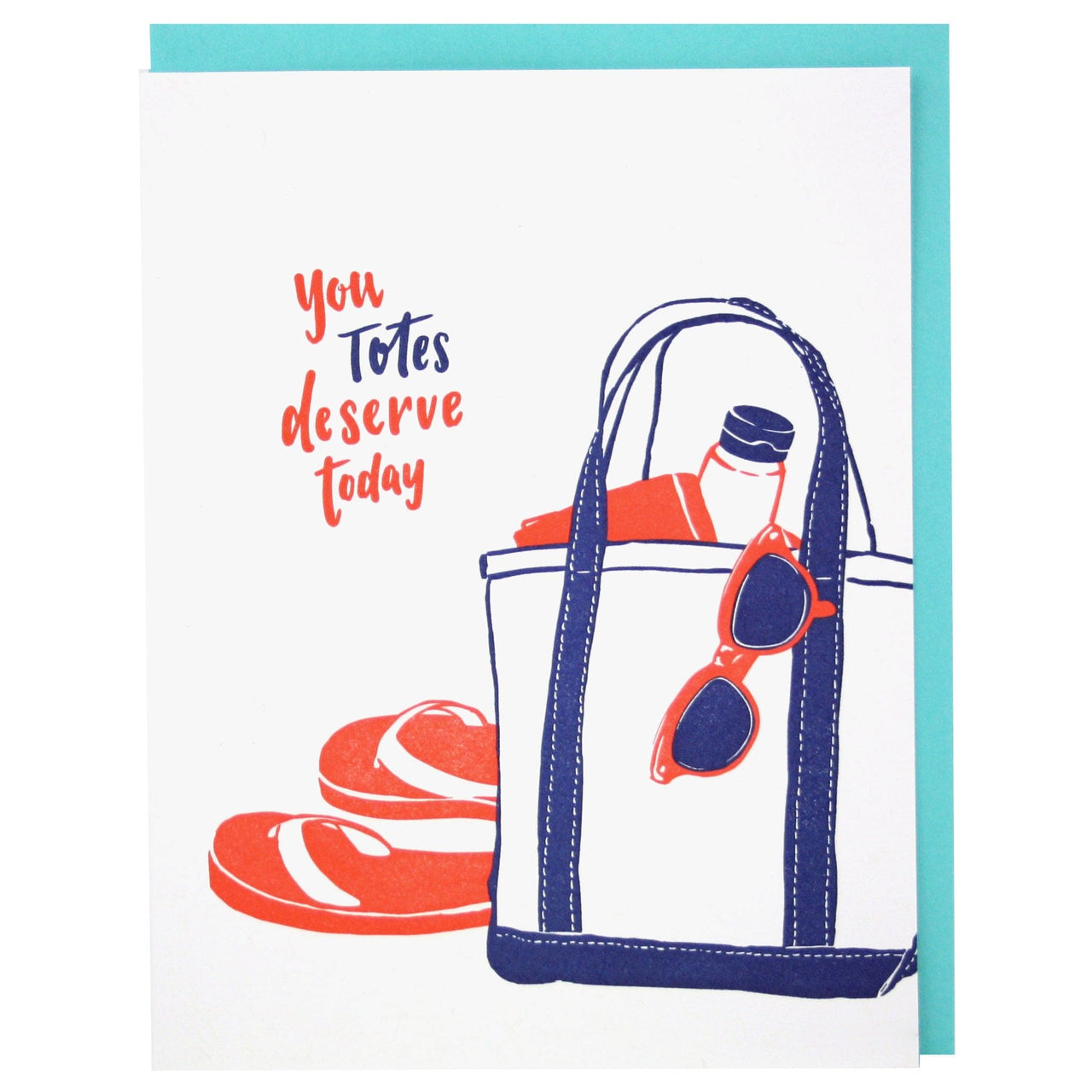 Beach Tote Mother's Day Card