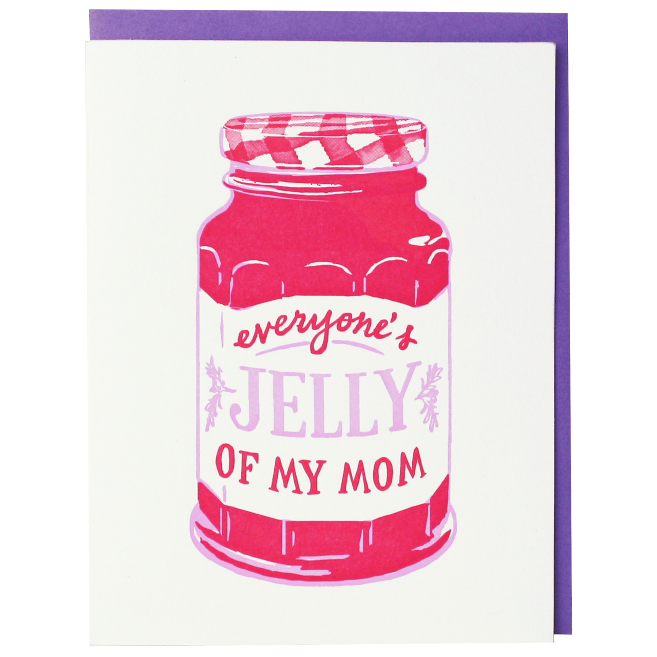 Jelly Mother's Day Card