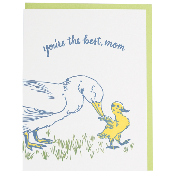 Duck and Duckling Mother's Day Card
