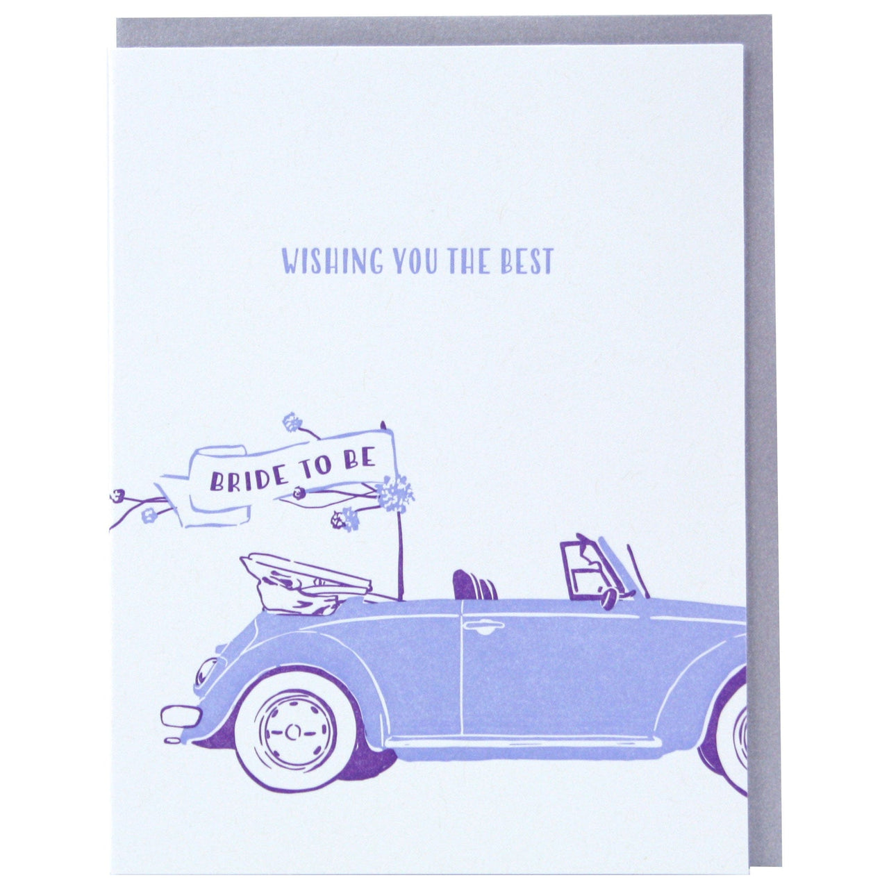 Bridal Buggy Bridal Shower Card