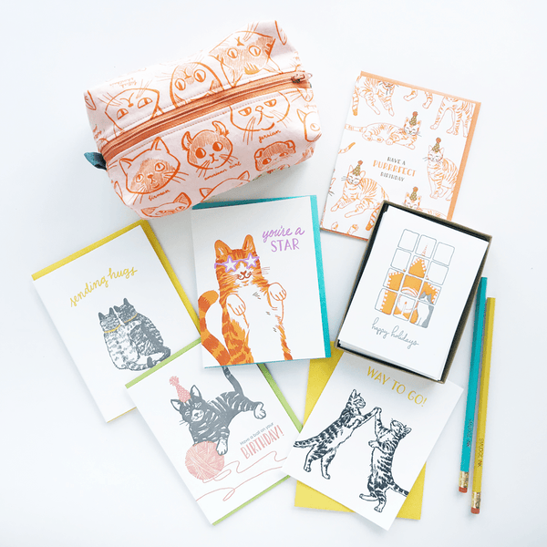 Cat Lady Letter Writing Kit