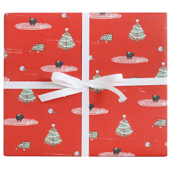 Christmas Kitten Gift Wrap