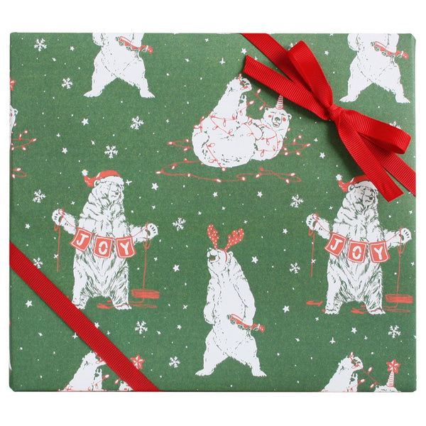Holiday Bears Gift Wrap