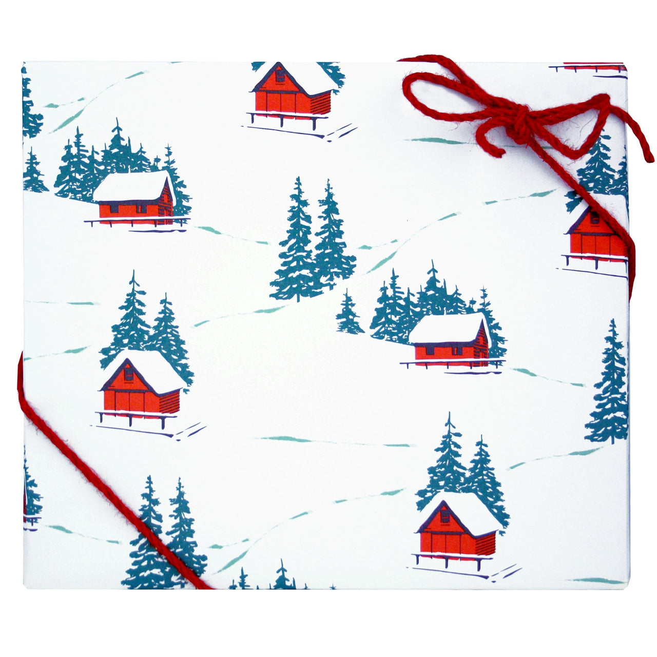 Hillside Cabins Gift Wrap