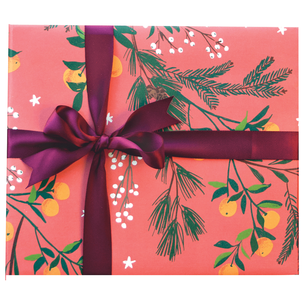 Clementines and Botanicals Gift Wrap