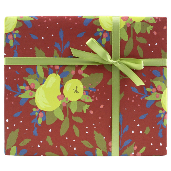 Winter Pears Gift Wrap