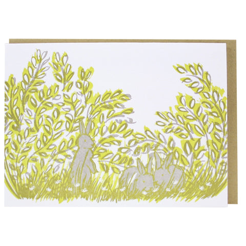 Bunnies Note Card