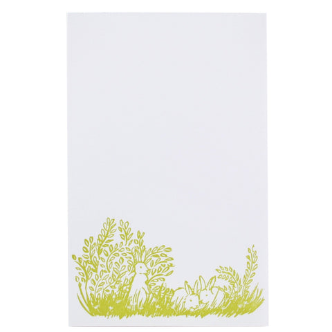 Bunnies Notepad