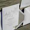 Charles Letterpress Invitation Suite