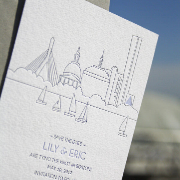Charles Letterpress Save the Date