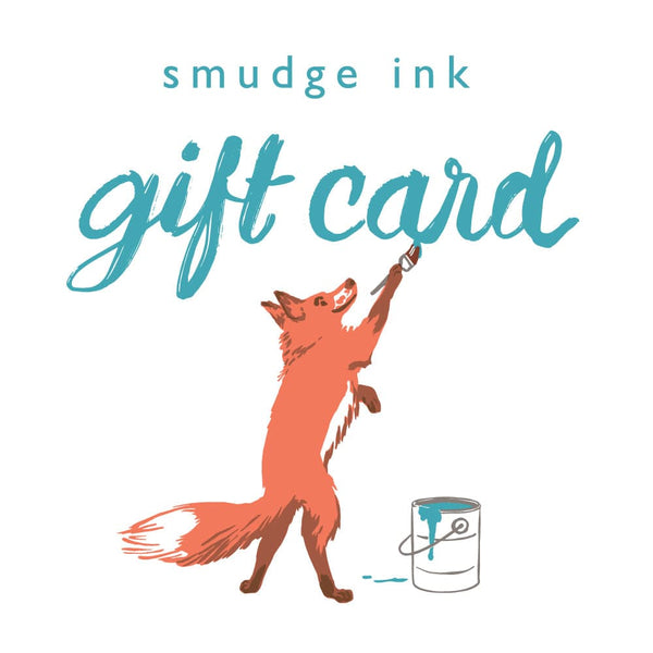 Smudge Ink Gift Card