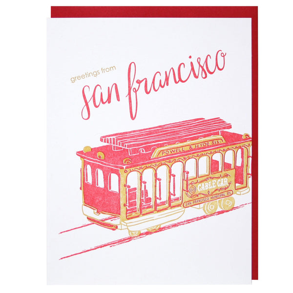 Greetings from San Francisco Card