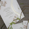 Gwyneth Letterpress Invitation Suite