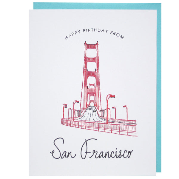 Happy Birthday from San Francisco Card