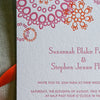 Jubilee Letterpress Invitation Close Up