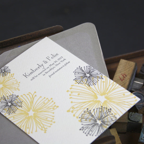 Lenox Letterpress Save the Date