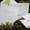 Olin Letterpress Invitation Suite