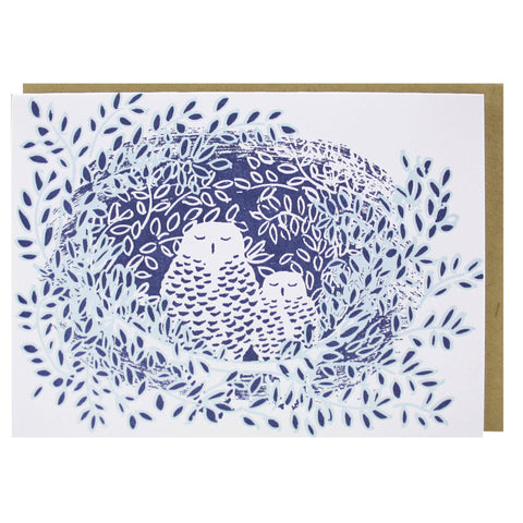 Owls Note Card