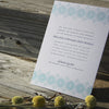 Sanibel Letterpress Invitation